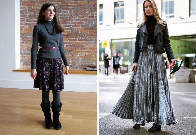 модные юбки осень зима 2017 2018