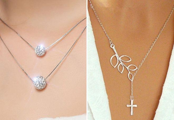 серебряные цепочки для женщин
