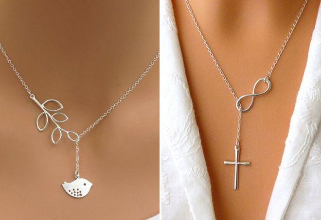 серебряные цепочки для девушек