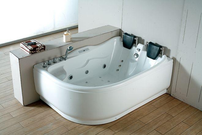 двухместная ванная с гидромассажем