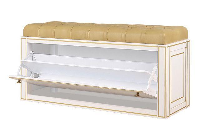 длинный пуф откидной ящик