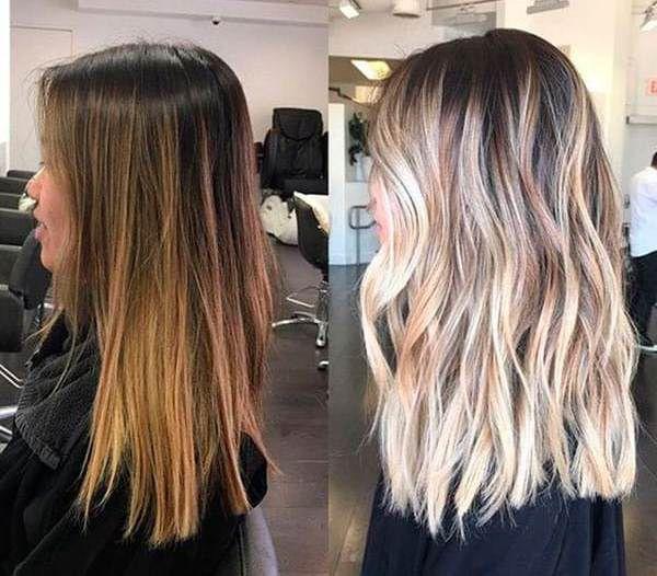осветление волос супрой фото до и после