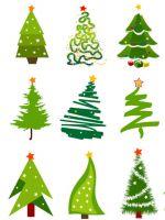 Как нарисовать елку?