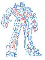Как нарисовать трансформера?