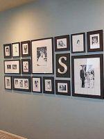 Как оформить стену фотографиями?