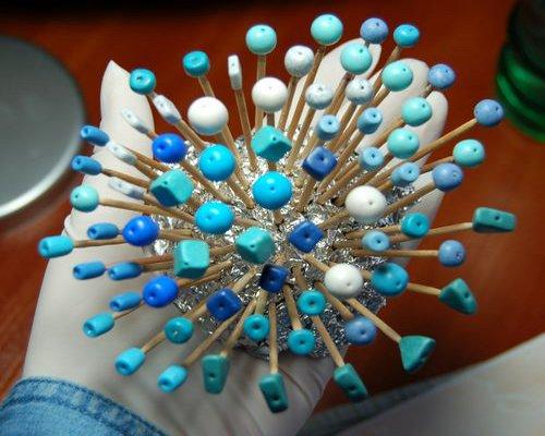 Как сделать кольцо из пластики 3