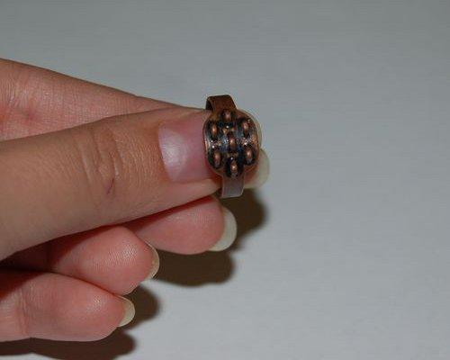 Как сделать кольцо из пластики 6