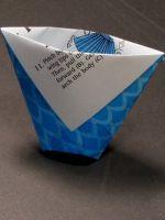 Как сделать стакан из бумаги?