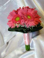 Букет невесты из гербер