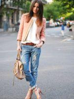 Что одеть с джинсами?