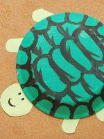 Как сделать черепаху из бумаги?