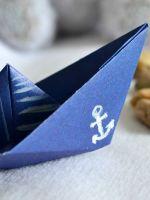 Как сделать кораблик из картона?