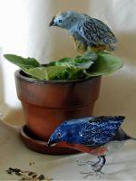 Как сделать птицу из бумаги?