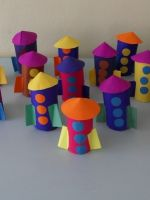 Как сделать ракету из картона?