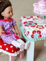 Как сделать стол для кукол?