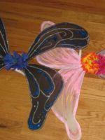 Крылья феи своими руками