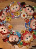 Как сделать кукол попиков?
