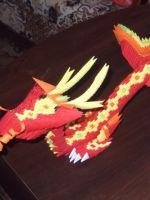 Модульное оригами - дракон