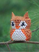 Модульное оригами - сова