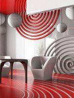 Оформление цвета стен жилого пространства