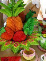 Поделки из модулей оригами