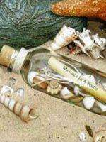 Послание в бутылке своими руками