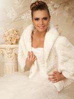 Шубка <em>накидка на свадьбу на осень</em> для невесты