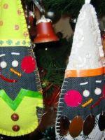 Снеговик из ткани своими руками