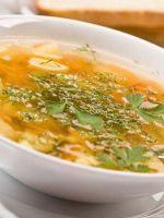 Суп в аэрогриле