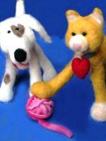 Валяние игрушек - мастер-класс