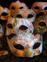 Венецианские маски своими руками