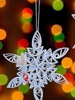 Новогодние украшения из бумаги