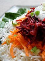 Салат из корневого сельдерея