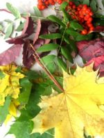 Топиарий из листьев своими руками