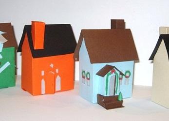 как сделать дом из бумаги фото 11