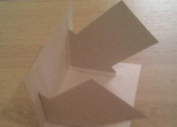 как сделать дом из бумаги фото 5