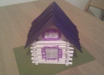 как сделать дом из бумаги фото 6