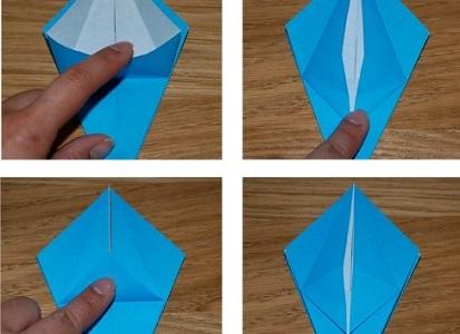 Как сделать лилию из бумаги 13