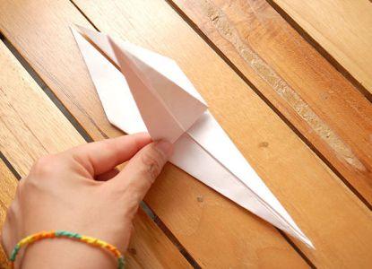 как сделать журавлика из бумаги фото 18