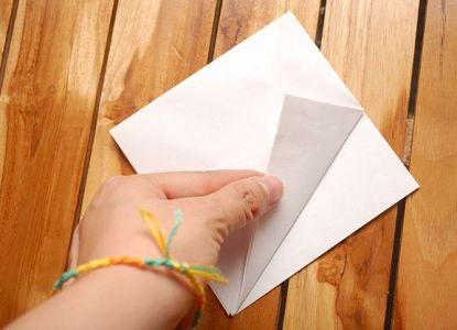 как сделать журавлика из бумаги фото 8
