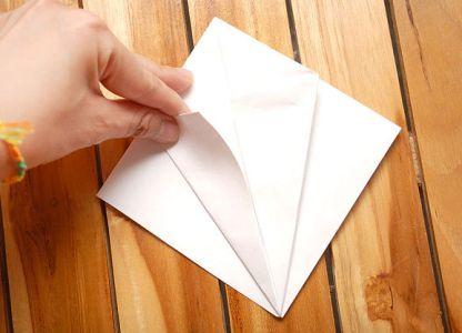 как сделать журавлика из бумаги фото 9