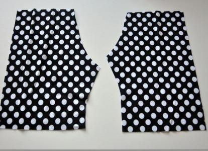 как сшить шорты для девочки фото 3