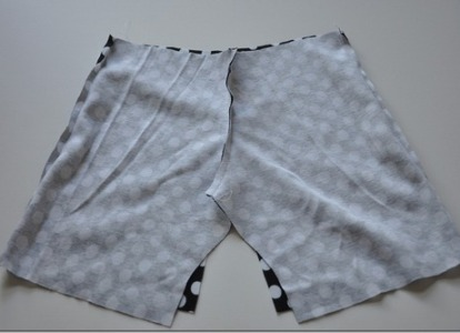 как сшить шорты для девочки фото 7