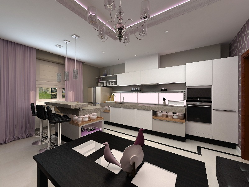 Дизайн однокомнатной квартиры холостяка 3