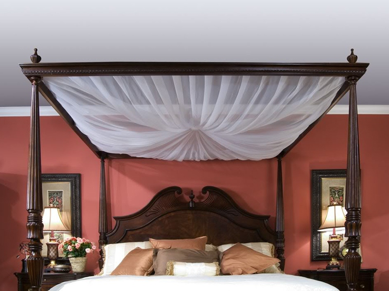 Балдахин своими руками на взрослую кровать фото
