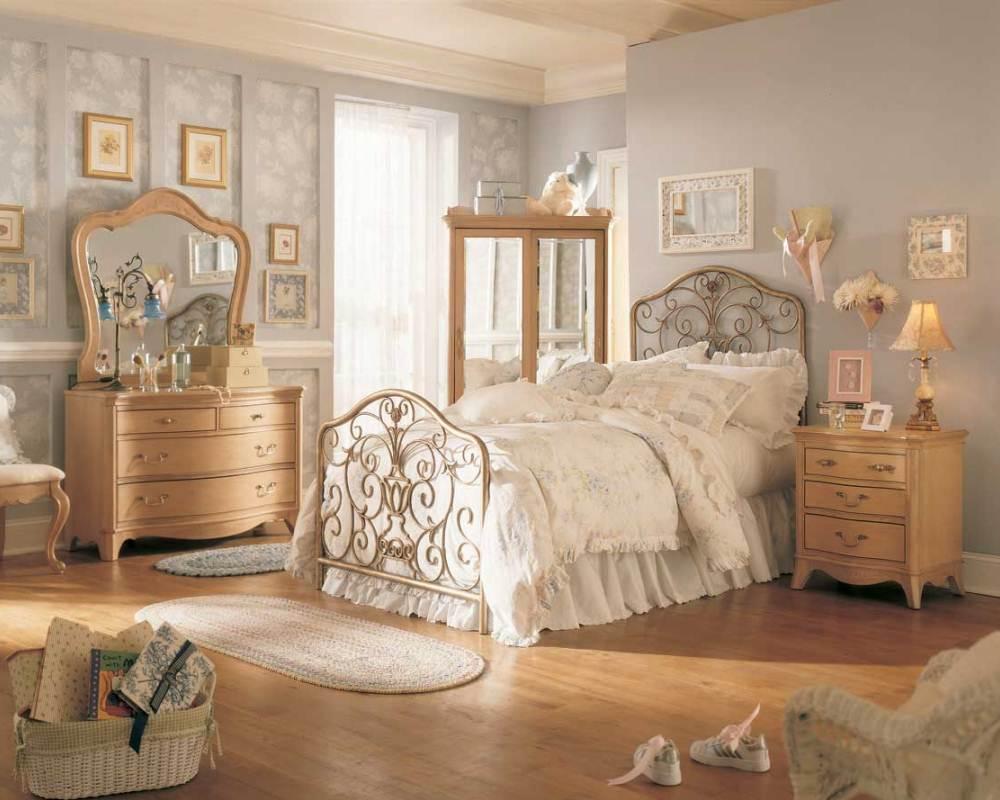 деревянная мебель под старину  фото