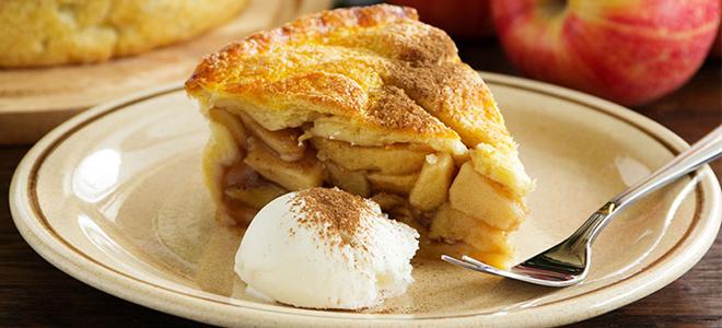 Яблочный пирог классический рецепт с фото