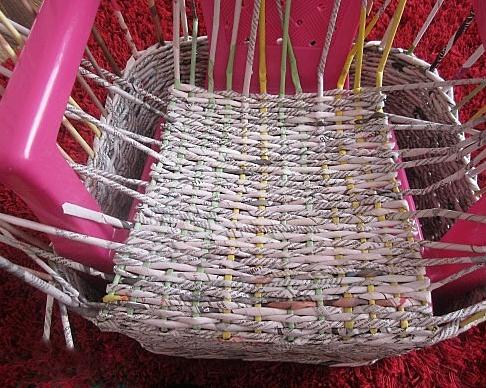 12. Плетеная мебель своими руками