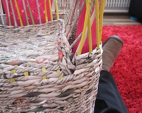 14. Плетеная мебель своими руками