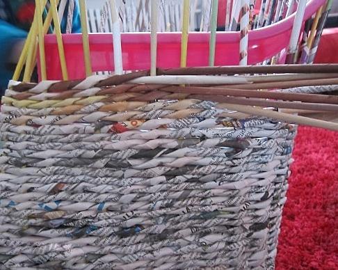 17. Плетеная мебель своими руками